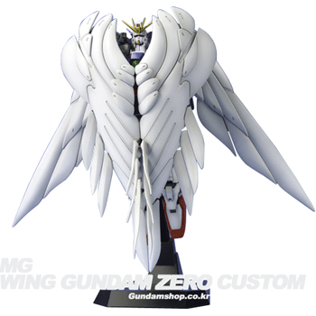 [MG] 1/100 XXXG-00W0 WING GUNDAM ZERO CUSTOM 윙 건담 제로커스텀 (천사건담/스탠드포함)-강력추천