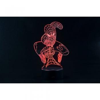 3D LED 무드등 슈퍼 히어로 II (CBT940152)