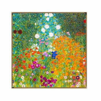 클림트 꽃의 정원 Flower Garden, 1907