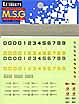 MSG 데칼 - 씰 유닛 003 [MD