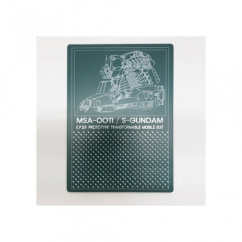 [건담샵GSHOBBY]커팅매트 MSA-0011 S-GUNDAM